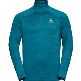 Odlo Millennium Element Midlayer 1/2 Zip Men tumultuous sea melange